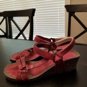 493923a91 Teva Shoes - Teva Ventura Cork 2 Wedge Rialto W s